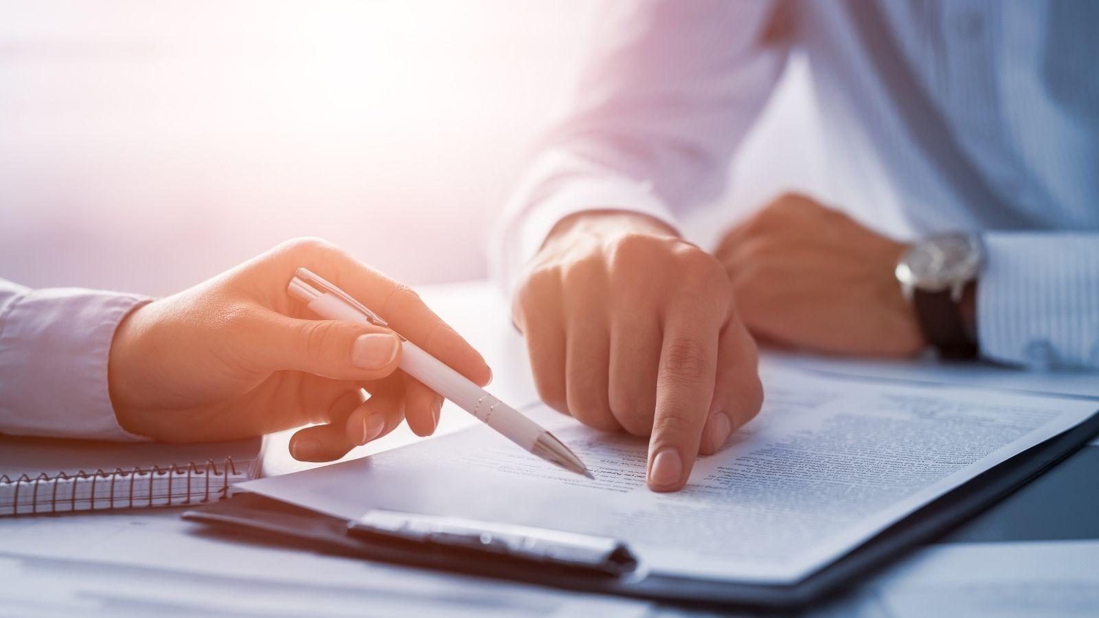 semnarea actului de retinere a unei proprietati