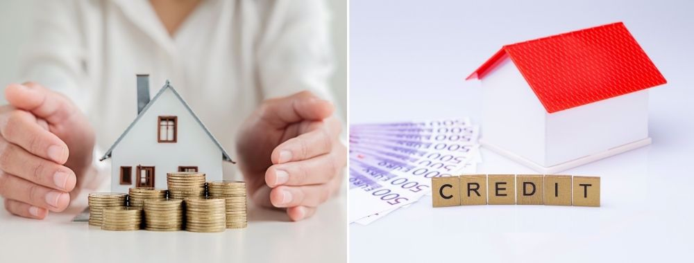 Diferentele intre plata din fonduri proprii si plata prin credit la vanzarea unei proprietati
