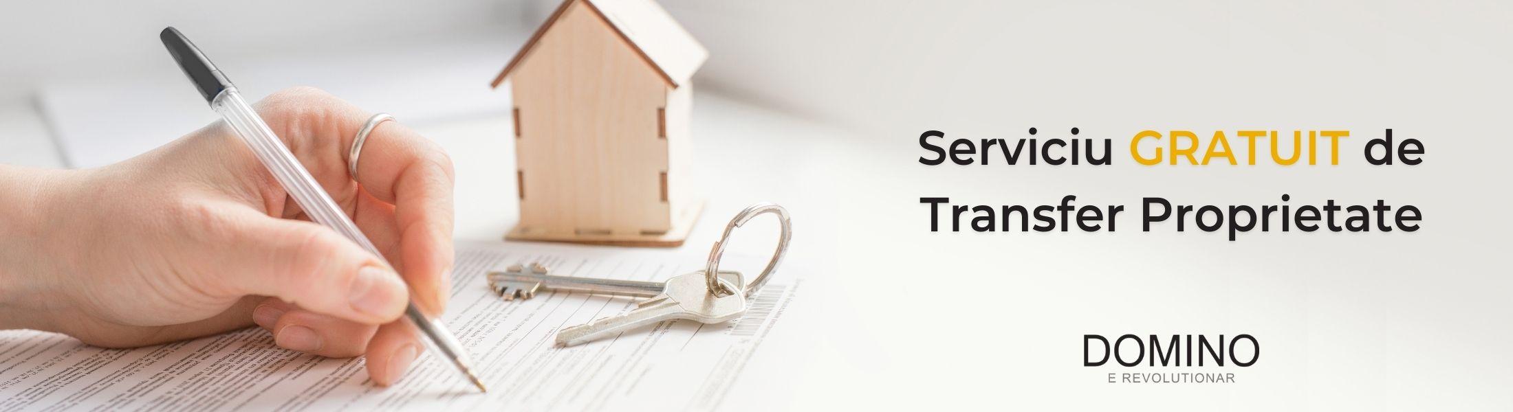 serviciu gratuit de transfer proprietate
